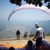paragliding at Mouzaki Mountain Festival
