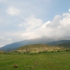 landing field in Kalivia - Mount Olympus