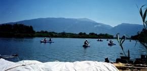 canoeing Pinios River - Tembi Valley