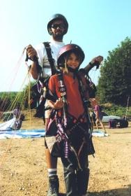 tandem paragliding - lets go