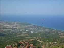 Little Church flight to the beach of Neos Panteleimonas - Mount Olympus