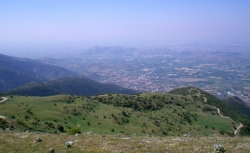 Sikourio view from take-off - Kissavos