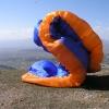 Mount Olympus - Kalivia - paraglider take-off