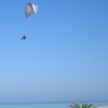Paramotor Paragliding at the beach of Platamonas - Mount Olympus