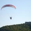 Paramotor Paragliding at the beach of Panteleimonas - Mount Olympus