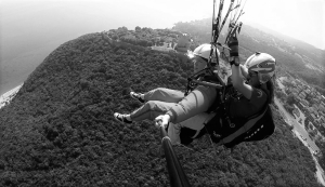 Claudia Kenk Olympic Wings experienced Paragliding Tandem Pilot Instructor