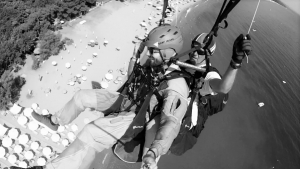 Stelios Makrovasilis Olympic Wings experienced Paragliding Tandem Pilot Instructor