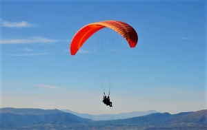 Olympic Wings tandem paragliding Mt Olympus Greece