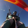 Happy Passengers Tandem paragliding training Course with Olympic Wings Mt Olympus Greece