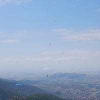 Paragliding XC seminar Bruce Goldsmith with Olympic Wings Mt. Olympus Greece