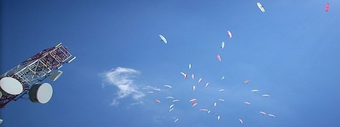 Paragliding World Cup (PWC) 2010 in Drama - Northern Greece