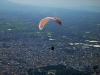 Flying over Drama city - Northern Greece