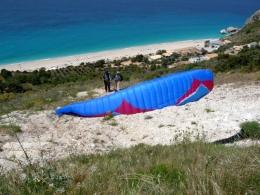 Lefkada take-off Agios Nikitas