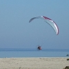 paramotor beach of Platamonas
