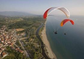 XC Mount Olympus - beach of Stomio / Kissavos